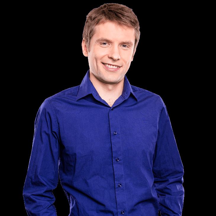 AUNOVIS Softwarelösungen Mitarbeiter Michael Portraitaufnahme
