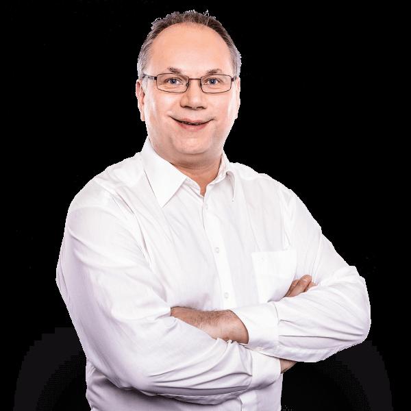 AUNOVIS Mitarbeiter Baumgartner Portraitaufnahme