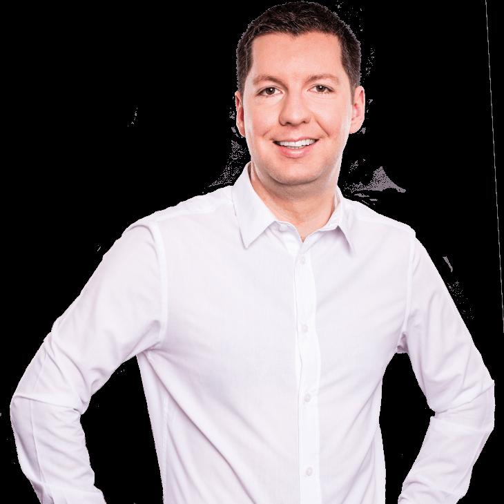 AUNOVIS Softwarelösungen Mitarbeiter Christoph Portraitaufnahme