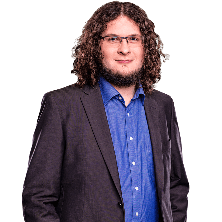 AUNOVIS Softwarelösungen Mitarbeiter Daniel Portraitaufnahme